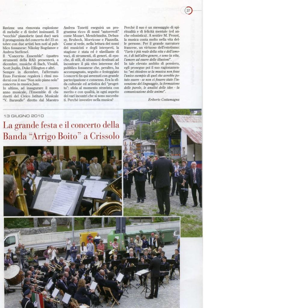 2010.09_Fossano in Mostra_La musica dell'anno 2