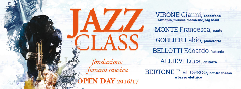 open day 2016 Evento JAZZ  per FB