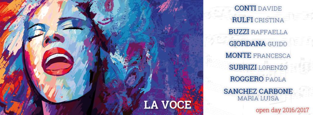 open day 2016 Evento La Voce per FB
