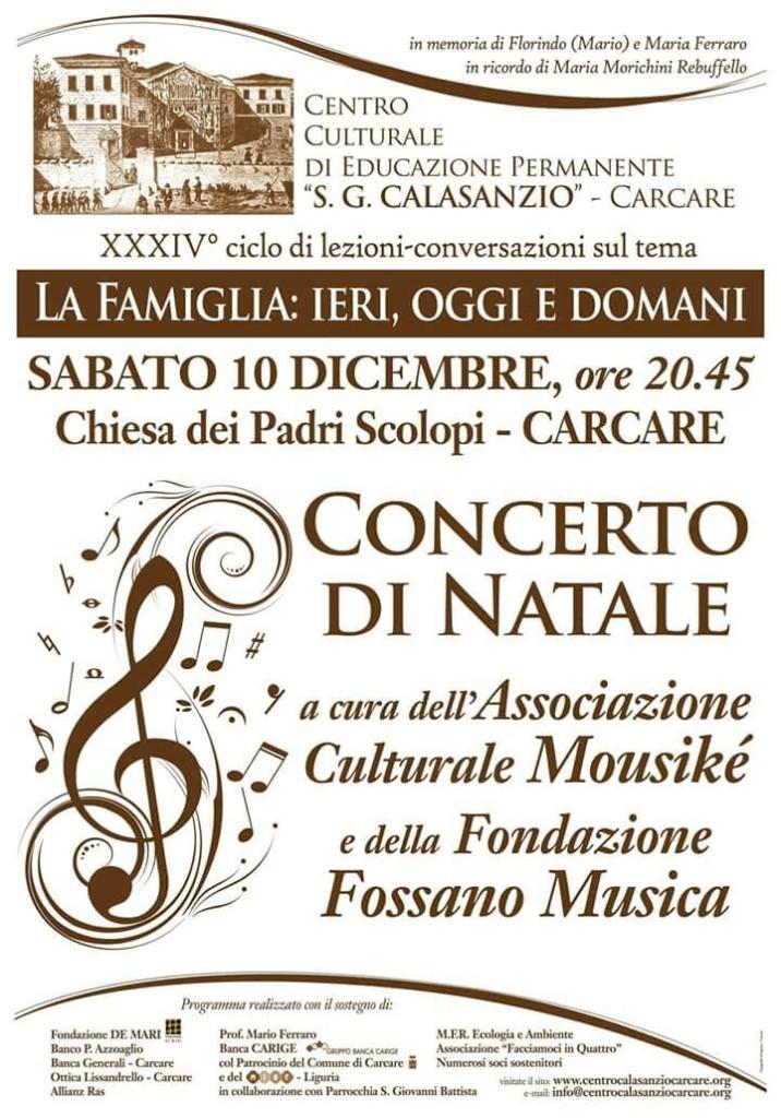 Concerto Roggero Carcare