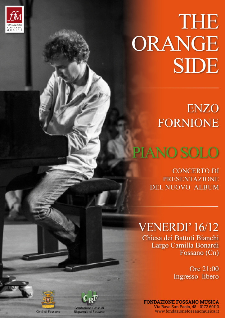 Locandina Concerto The Orange Side