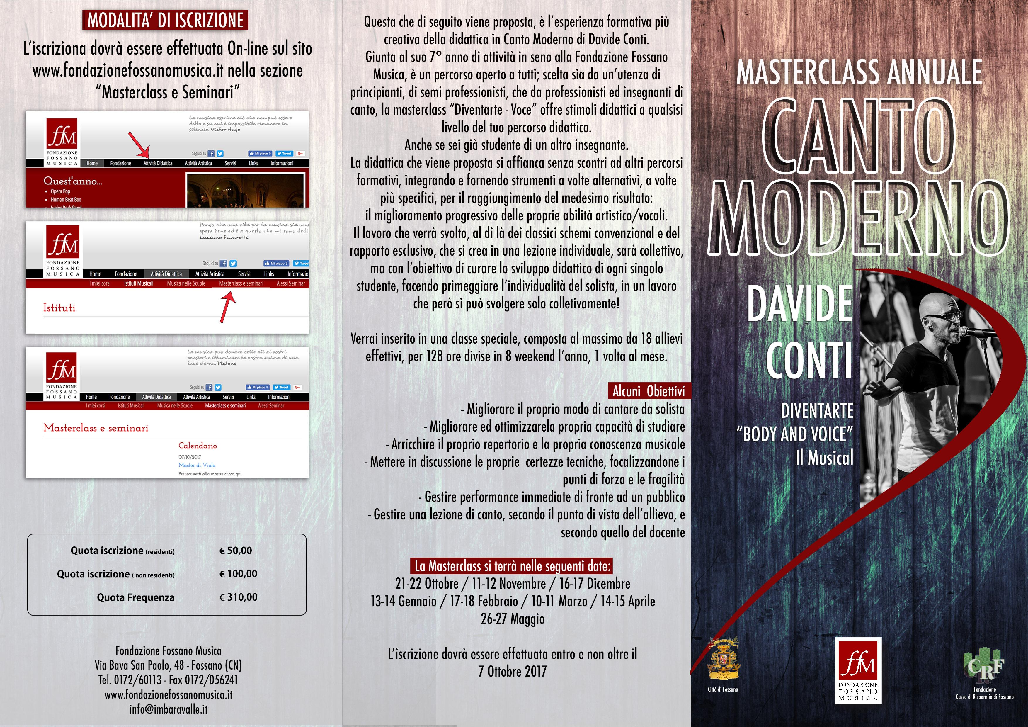 Brochure Masterclass D.Conti copia