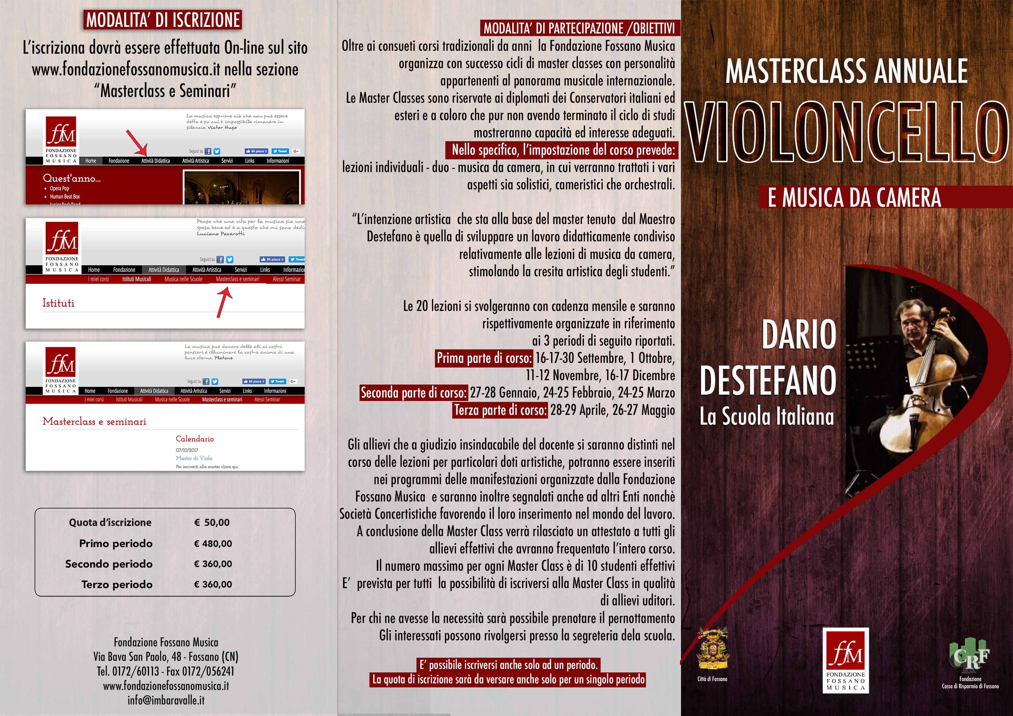 Brochure Masterclass Destefano Fronte copia