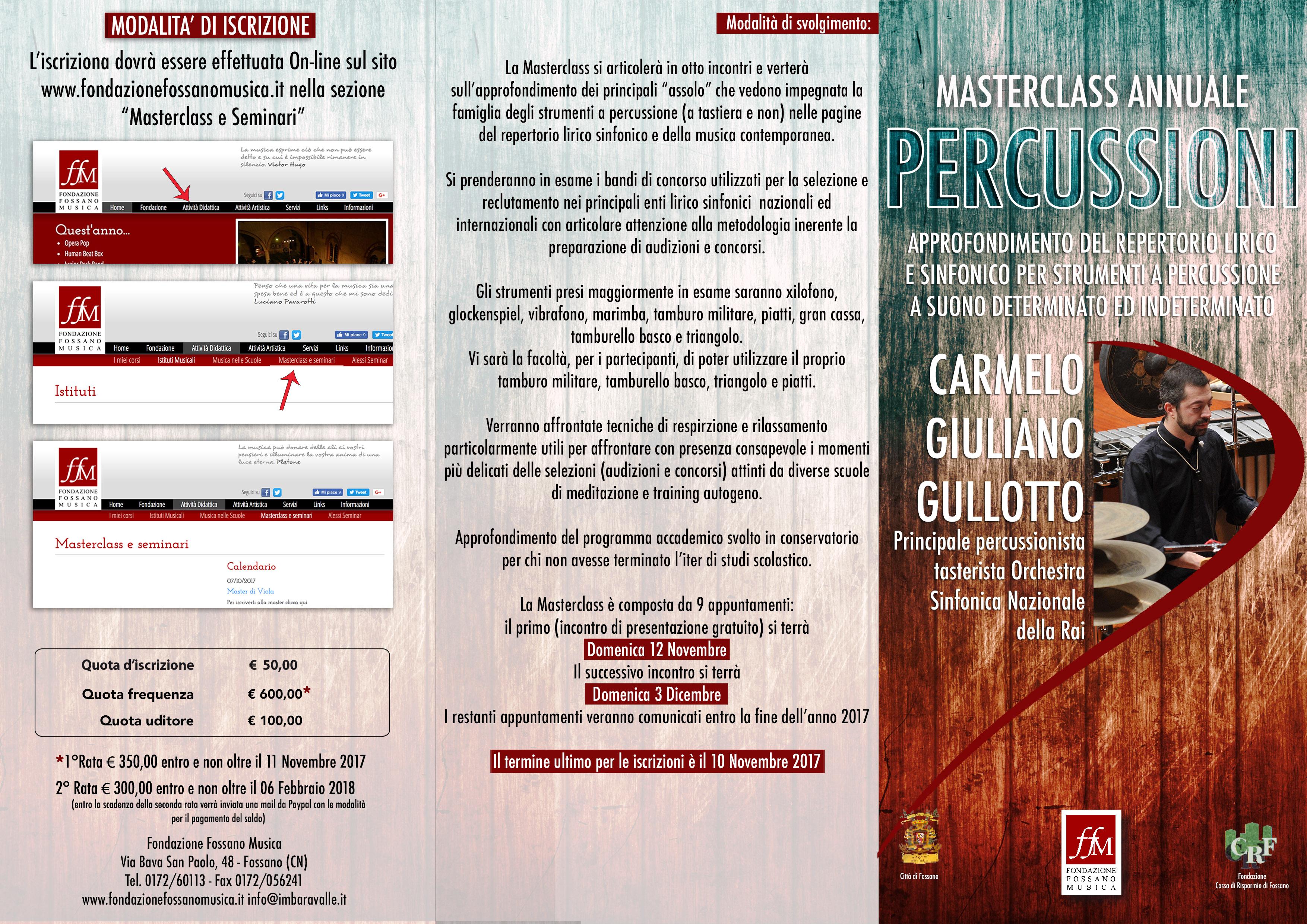 Brochure Masterclass C.Gullotto Fronte copia