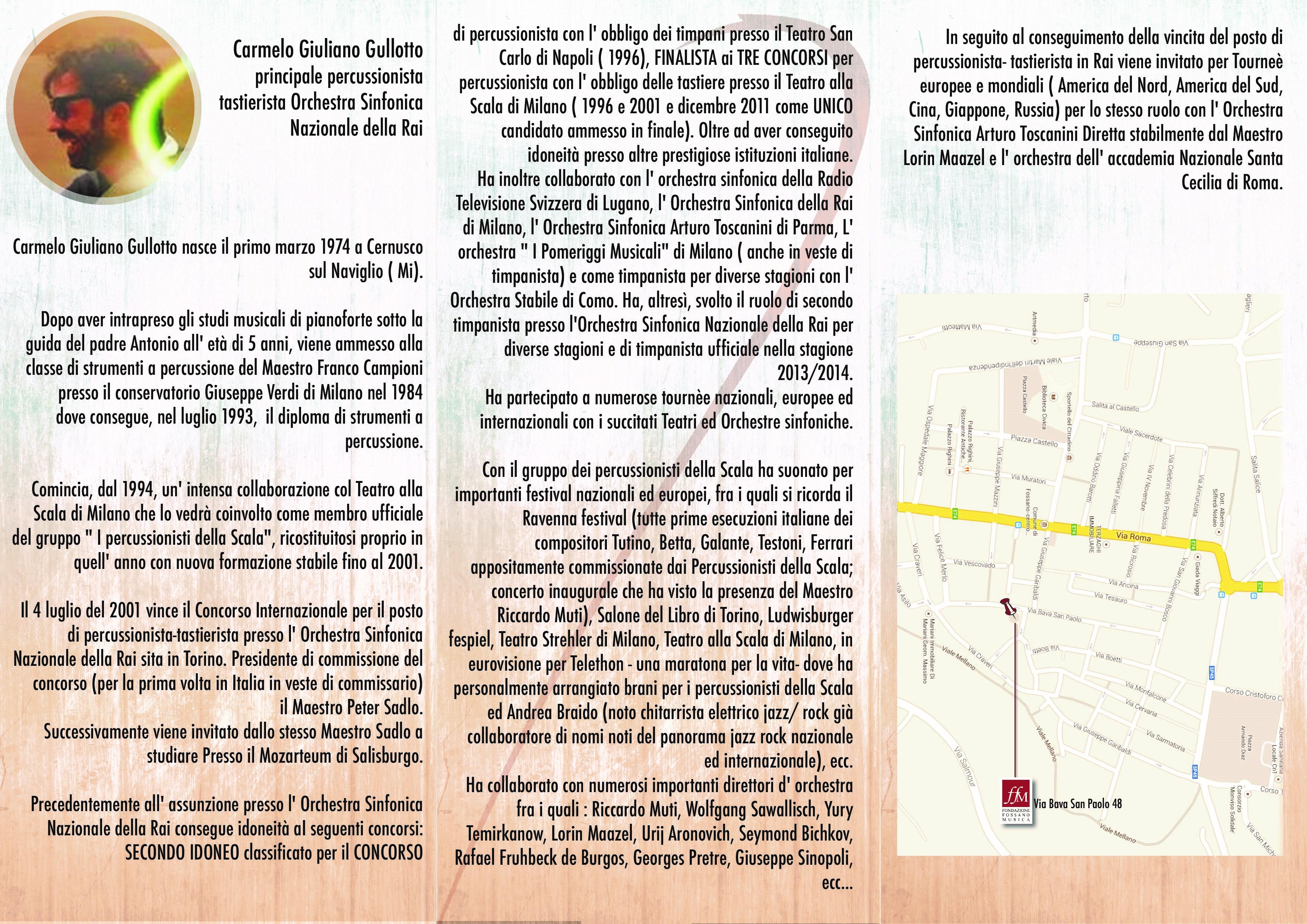 Brochure Masterclass C.Gullotto Retro copia